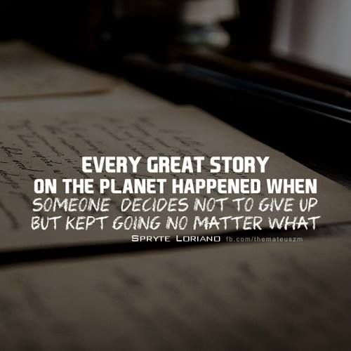[Image] Every great story