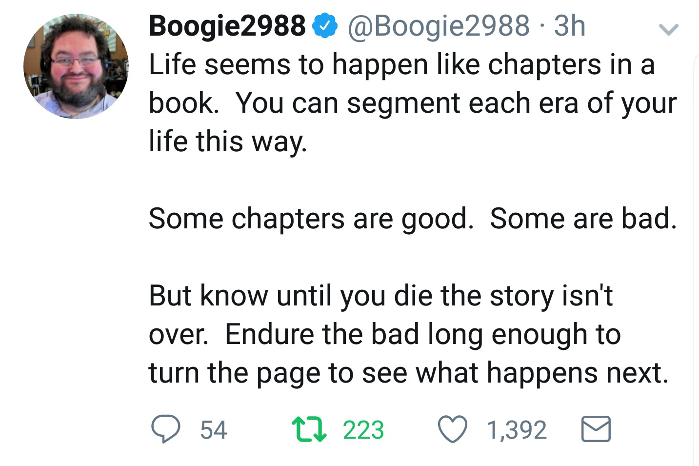 [image] chapters in a book.