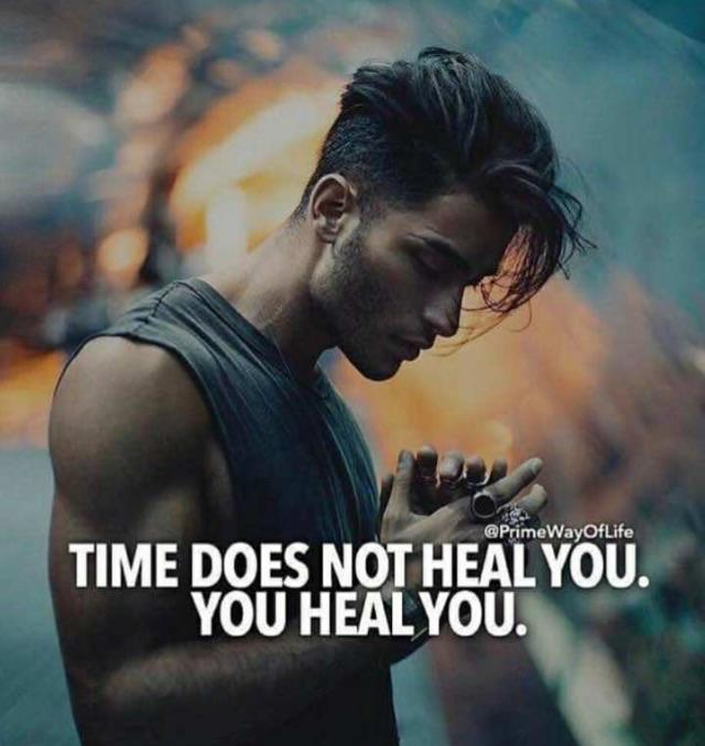 [Image] Only you can heal yourself.