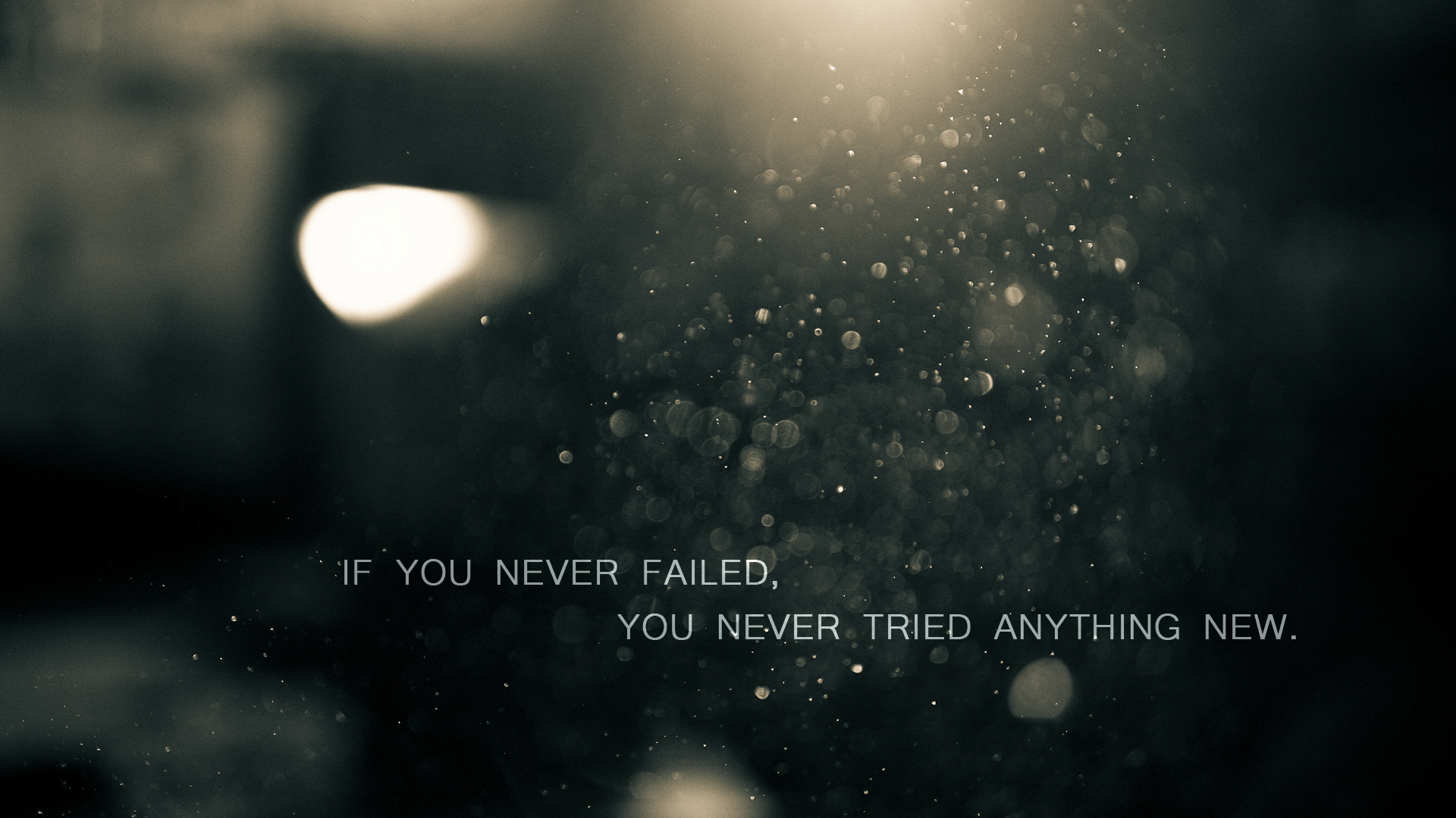 [Image] If You Never Failed…