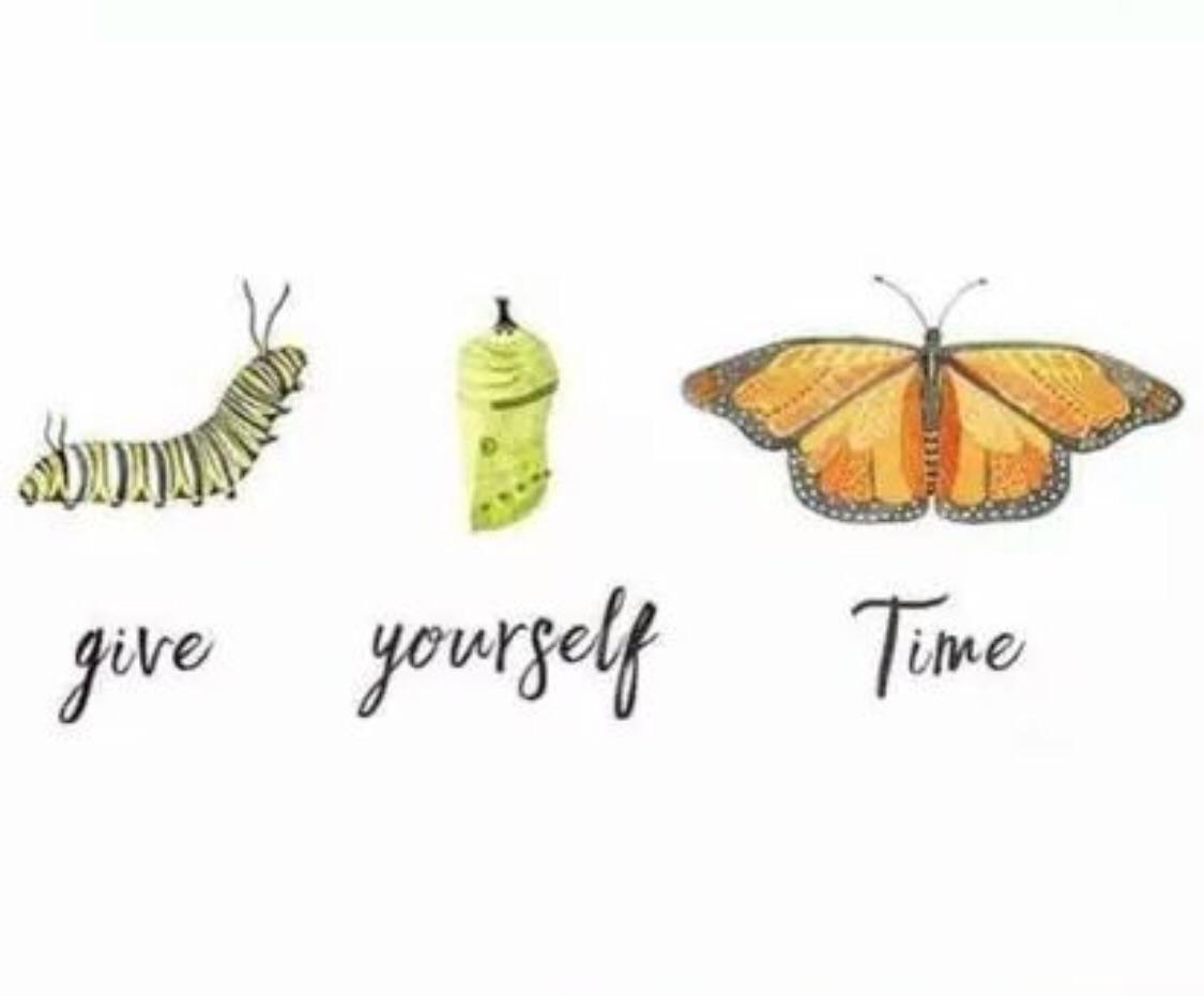 [Image] Give yourself time