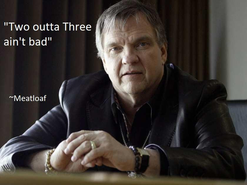 """Two outta Three…"" – Meatloaf [840×630][OC]"
