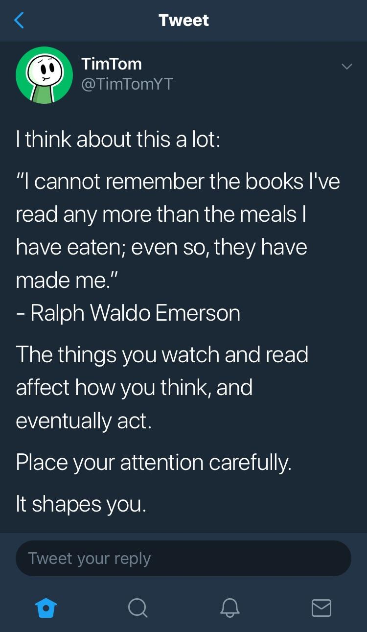 [Image] Place your attention carefully