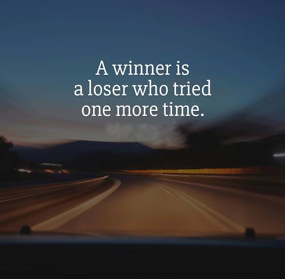 It is OK to lose [image]