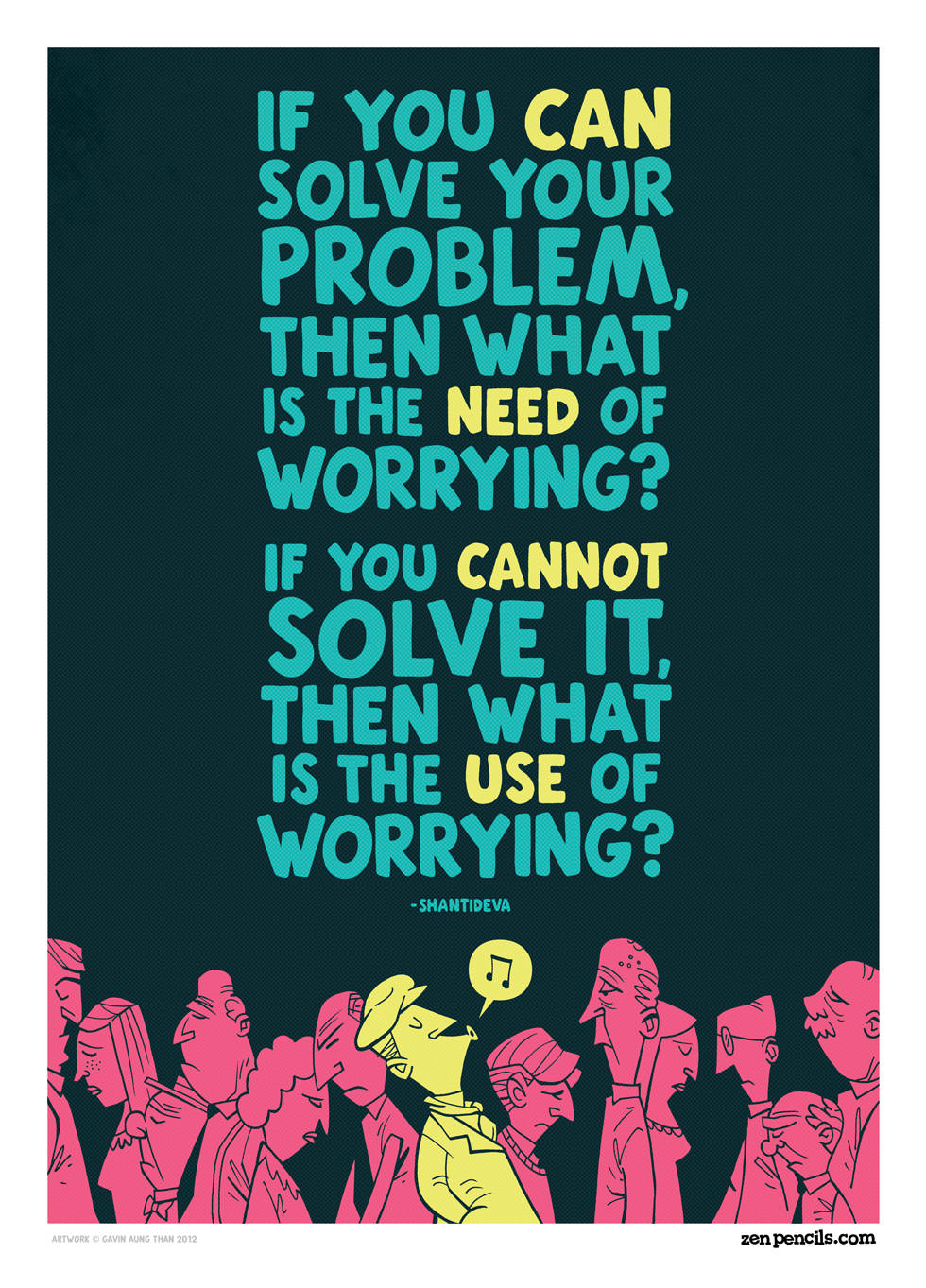 """IF YOU g SOLVE YOUR PROBLEM, THEN WHAT IS THE WORRYING? IF YOU SOLVE IT. THEN WHAT ISTHE WORRYING"""" https://inspirational.ly"""