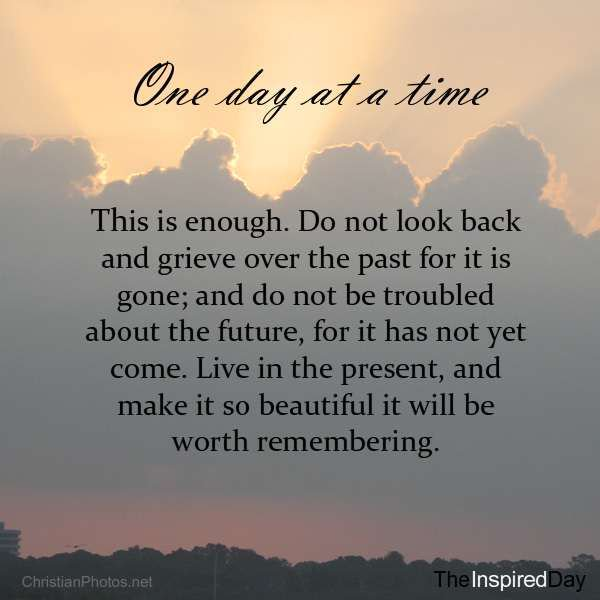 "[IMAGE] ""One Day at a Time"" (92)"