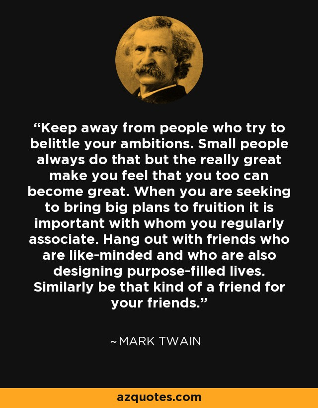 "[IMAGE] ""It Is Important with Whom You Regularly Associate"" (106)"
