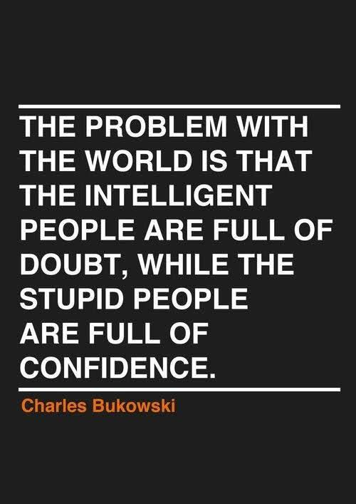 [Image] Well said Mr. Bukowski.
