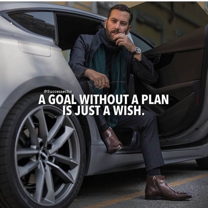 A Goal without a plan is just a wish. [720*720]