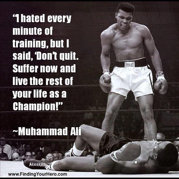 [Image] To be a Champion