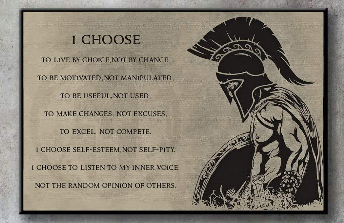 [Image] Your choices make you who you are.