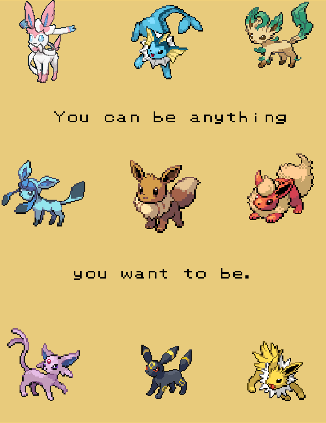 "[IMAGE] ""You Can Be Anything You Want to Be"" (114)"