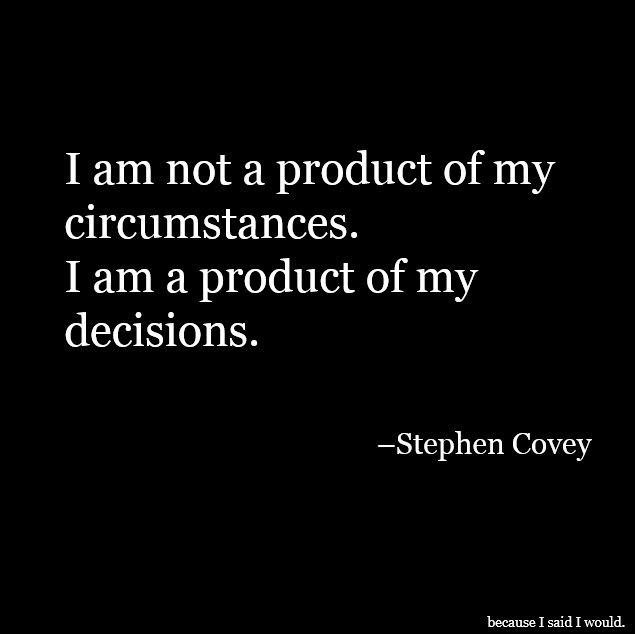"""[IMAGE] """"Circumstances/Decisions"""" (49)"""