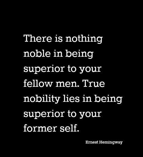 [IMAGE] Be superior to yourself today.