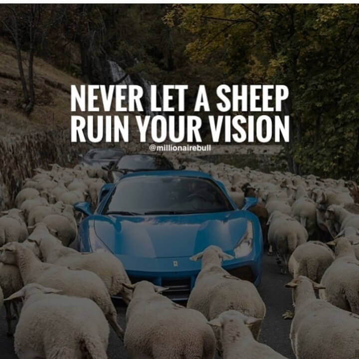 [Image] Focus on your vision.