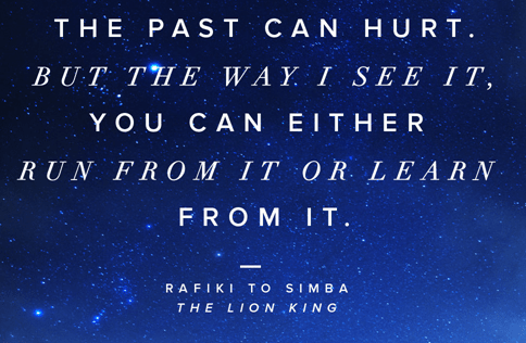 [image] Don't Run, Learn from your past