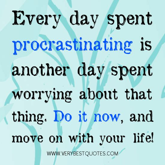 "[IMAGE] ""Procrastinating: Do It Now!"" (95)"