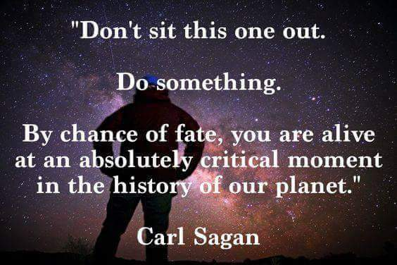 [Image] A little Carl Sagan for today.