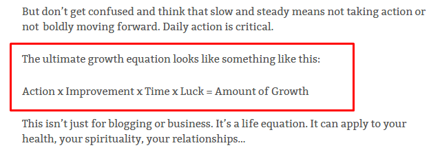 [Image] Business Growth Equation