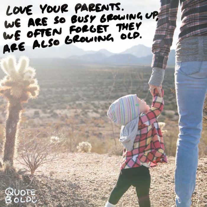 """Love your parents. We are so busy growing up, we often forget they are also growing old."" – unknown [800×800] [OC/OS] – Happy Mother's Day Everyone :)"