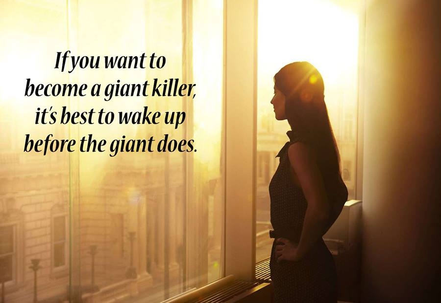 [Image] Get an early start
