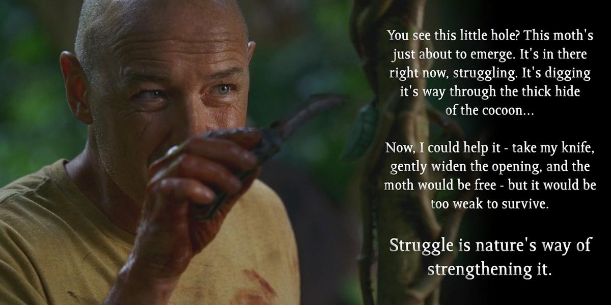 [Image] Struggle Is Necessary