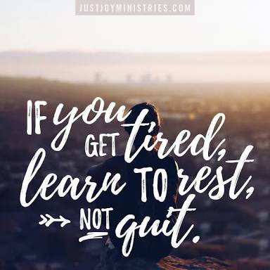 """""""If you get tired, learn to rest, not quit"""" – Banksy [384×384]"""
