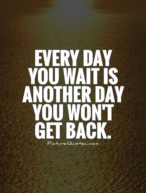 "[IMAGE] ""Every Day You Wait…"" (100)"