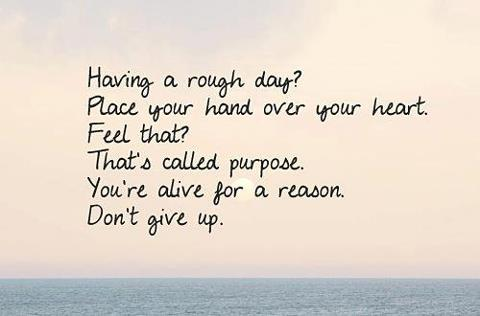 [Image]You are alive for a reason