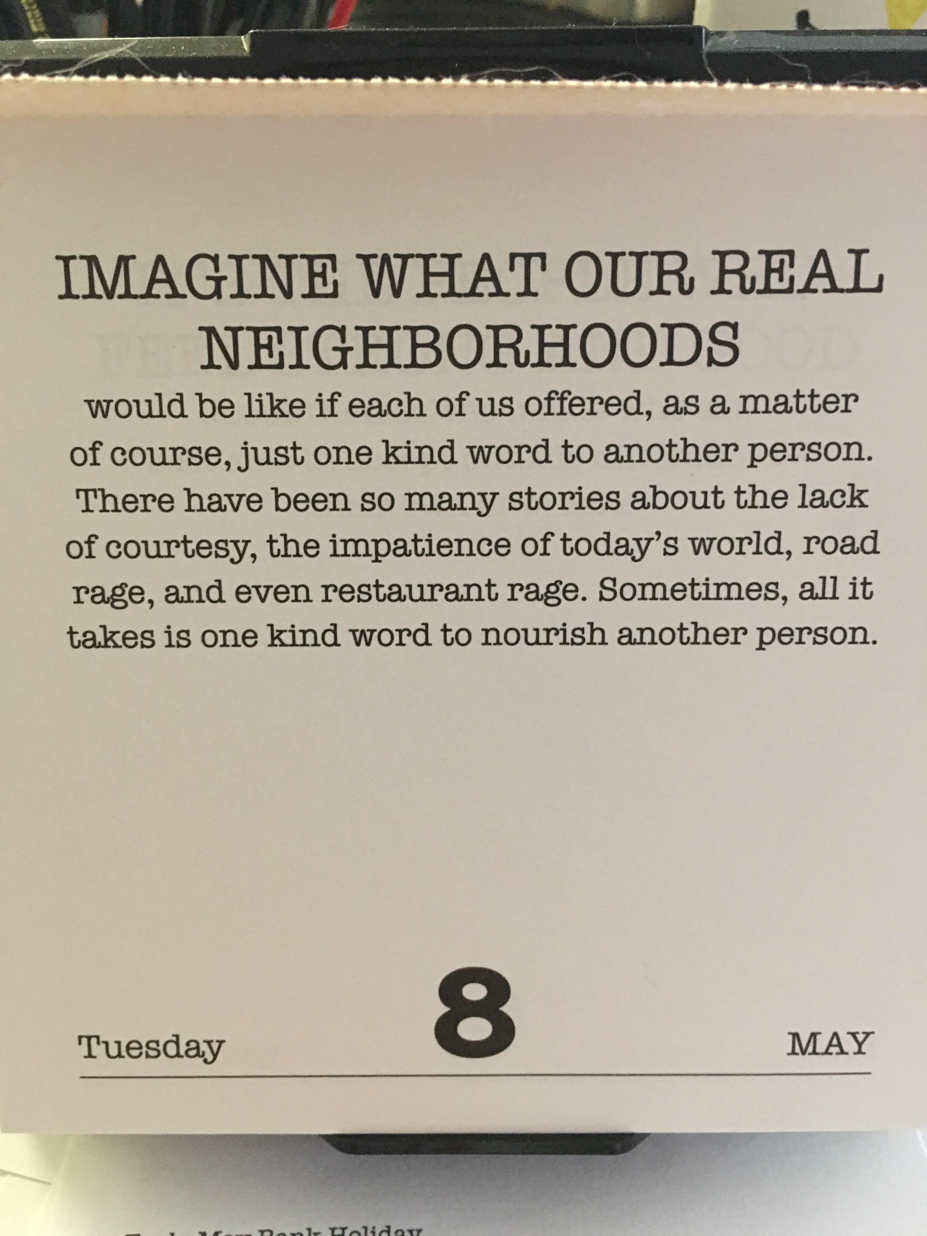 [IMAGE] More advice from Fred Rogers – one kind word.