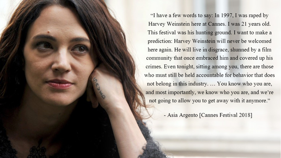 """I have a few words to say:"" – Asia Argento Cannes Festival 2018 [950×534]"