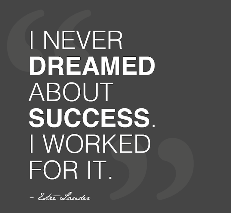 "[IMAGE] ""I Never Dreamed About Success…"" (88)"