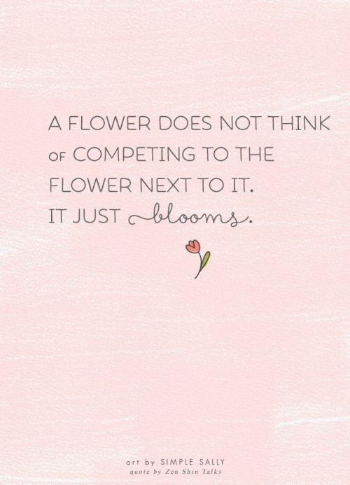 """""""…It just blooms."""" -Zenkei Shibayama [500×693]"""