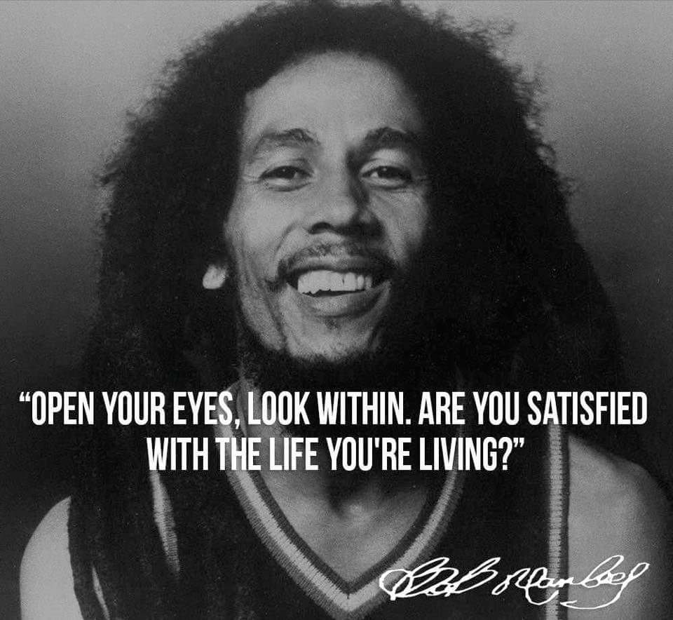 Are You Satisfied? Bob Marley [960×884]