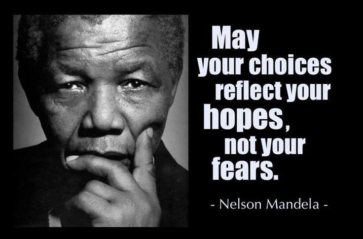[Image] May your choices reflect your hopes, not your fears.