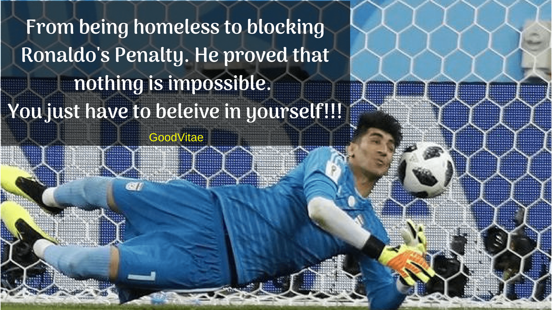 [Image] Alireza Beiranvand has become an inspiration for millions