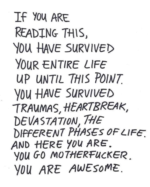 [IMAGE] You Go Motherfucker, You are Awesome.