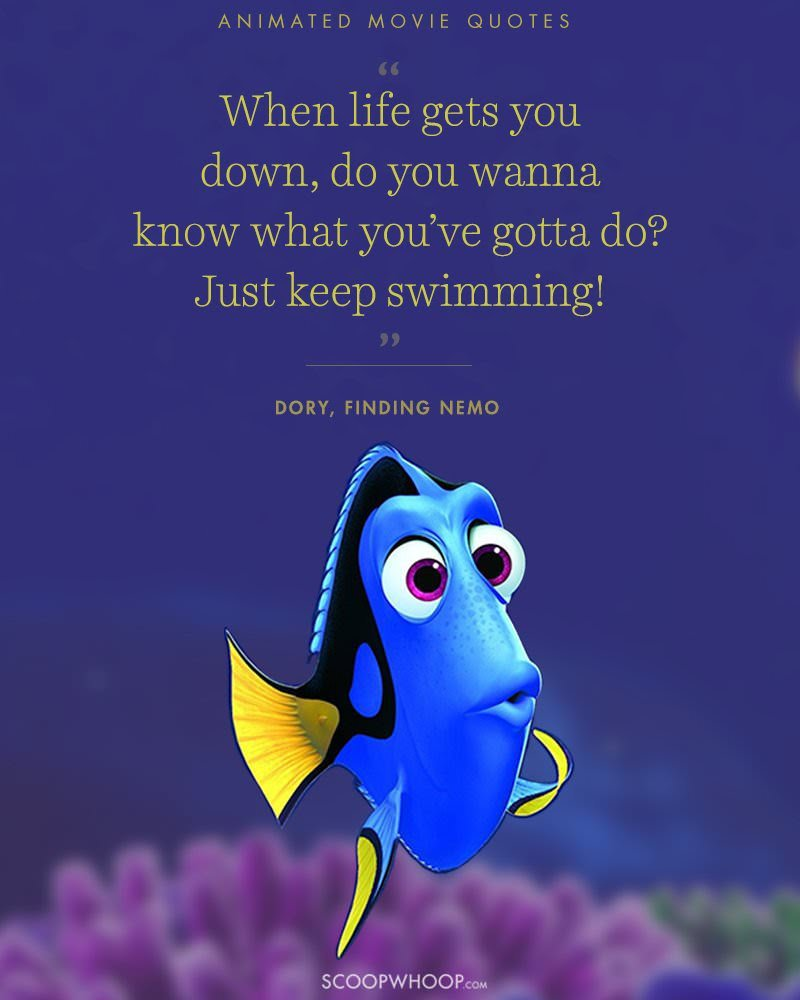 "[IMAGE] ""Just Keep Swimming!"" (166)"
