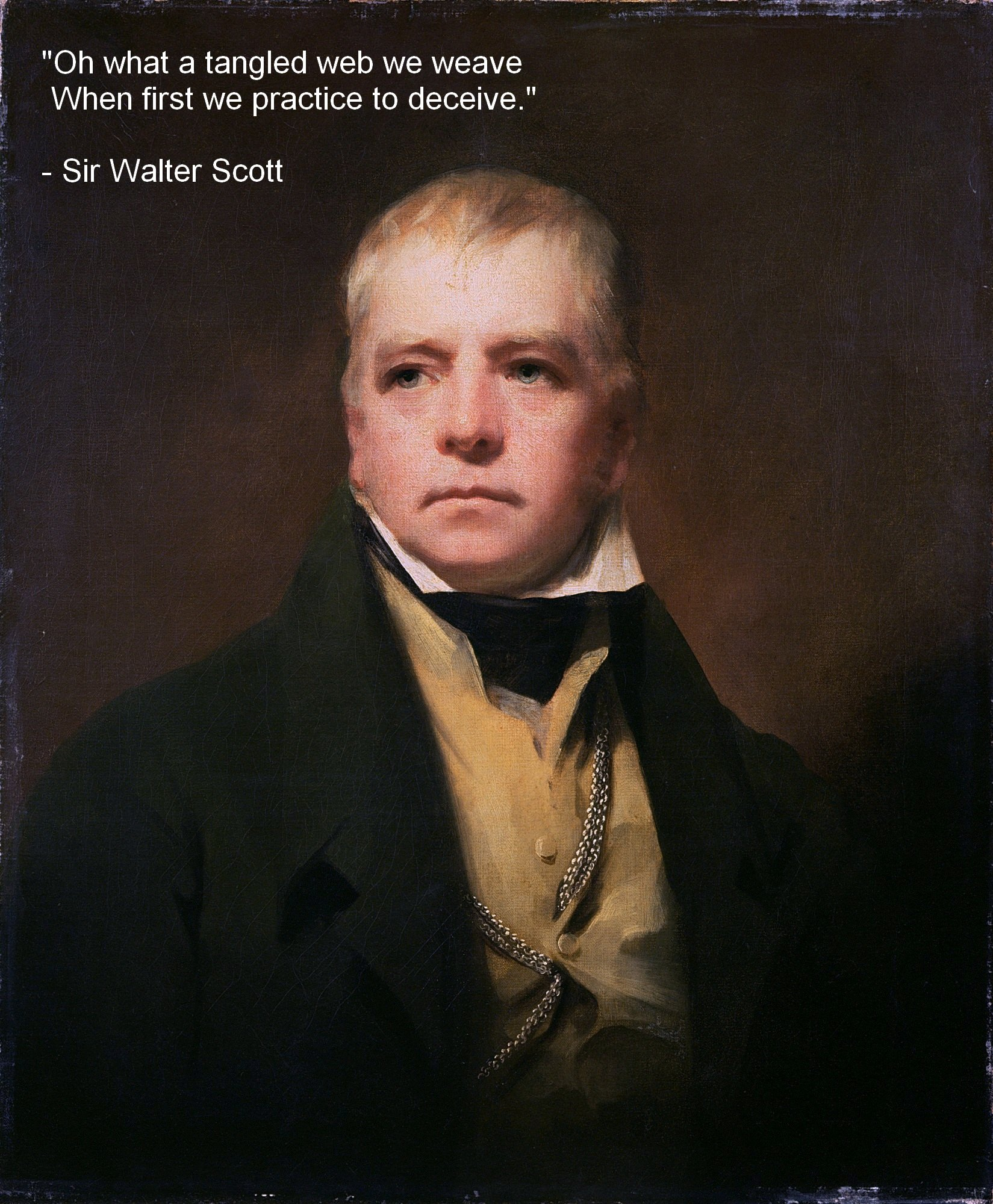 """Oh what a tangled web we weave…"" Sir Walter Scott [1849×2000]"