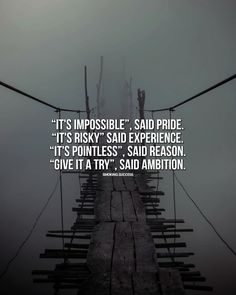 [image] Ambition