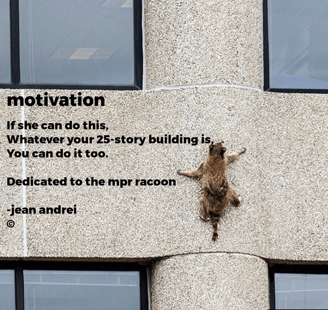 """emotwatlon ' llfshe can do this, . , — ' -'A'Whatev'er your 25- -story buIIdIng Is _ : You can do it too. , I ' _' Dedioated to the'mpr rocooII """" 'I ,'o-jeajn aIIdreli. 9 https://inspirational.ly"""