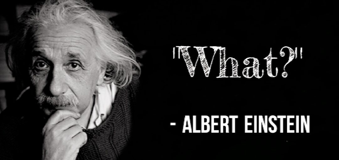 Albert Einstein asked the hard questions so you don't have to [1080×516] [OC]
