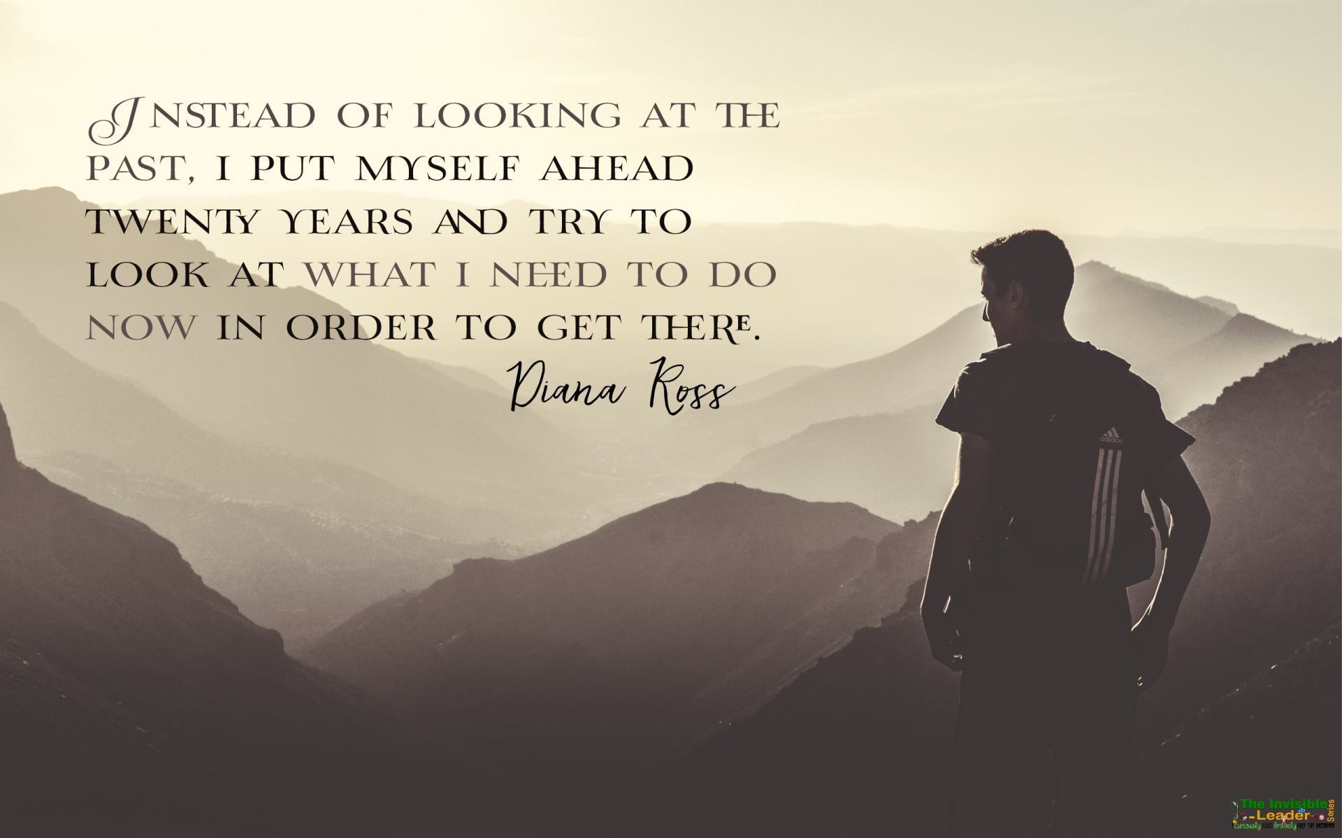 """Instead of looking at the past, I put myself ahead twenty years and try to look at what I need to do now in order to get there"" From Diana Ross [1920×1200]"