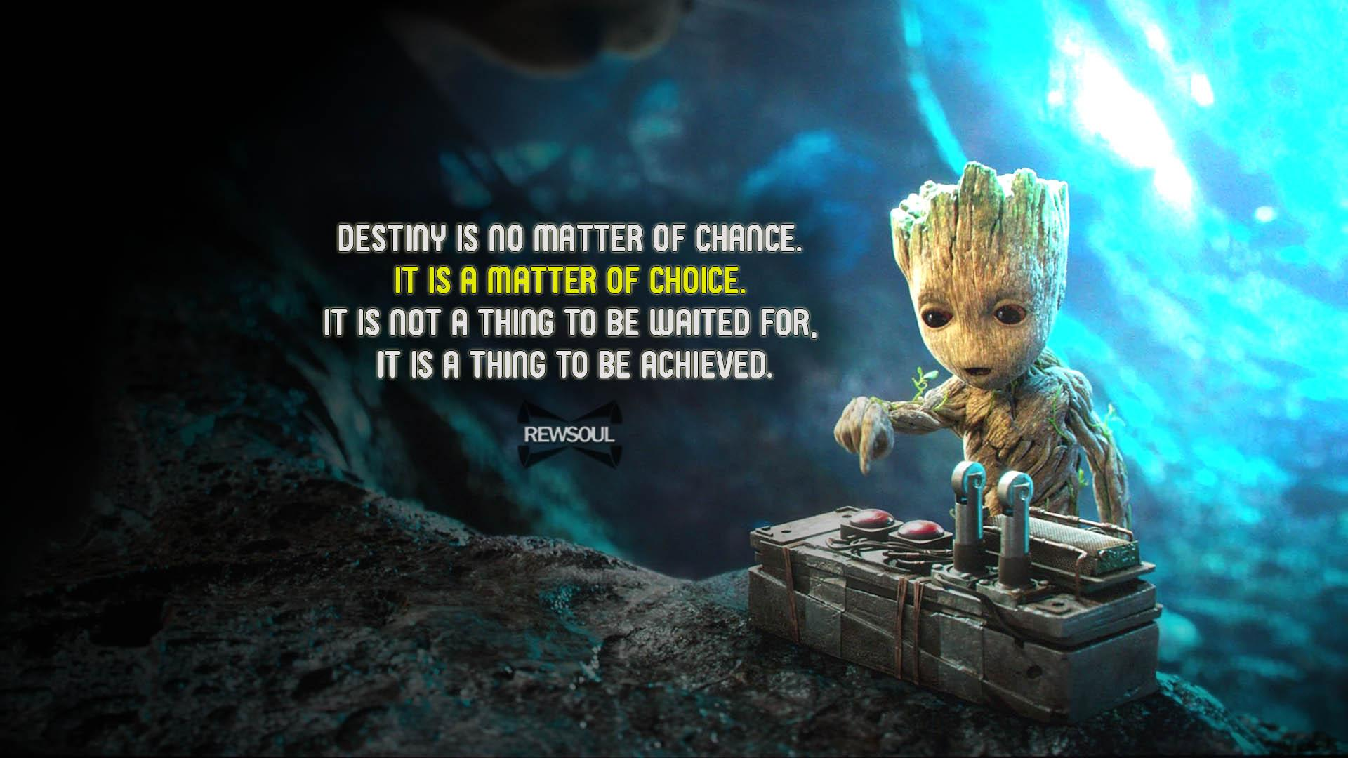 [Image] Destiny is a matter of choice.