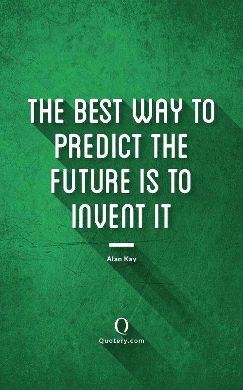 [IMAGE] Predict the future.