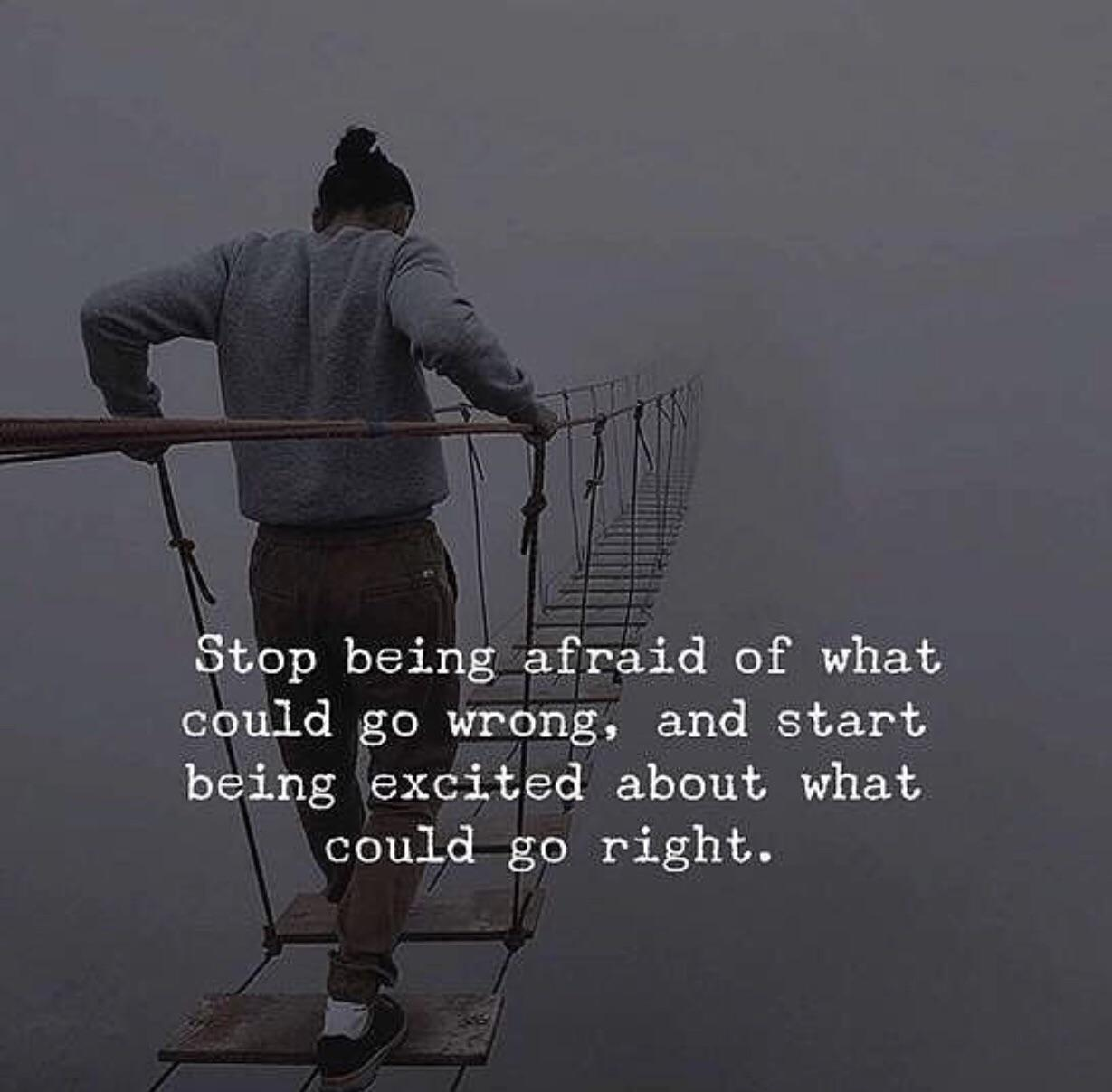 [Image] Why are you so afraid….