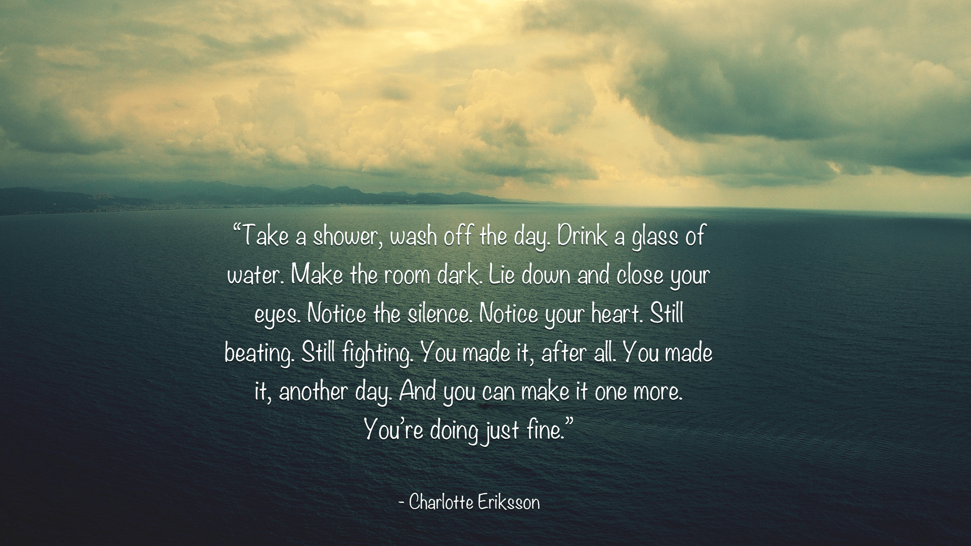 [Image] You're Doing Just Fine