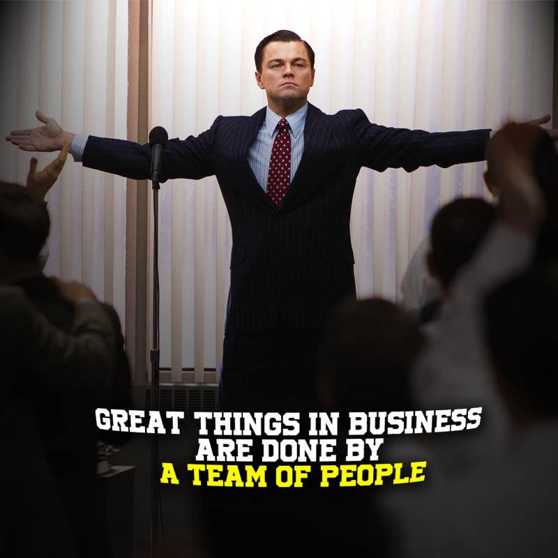 [Image] Great things in business are never done by one person. They are done by A Team of people.