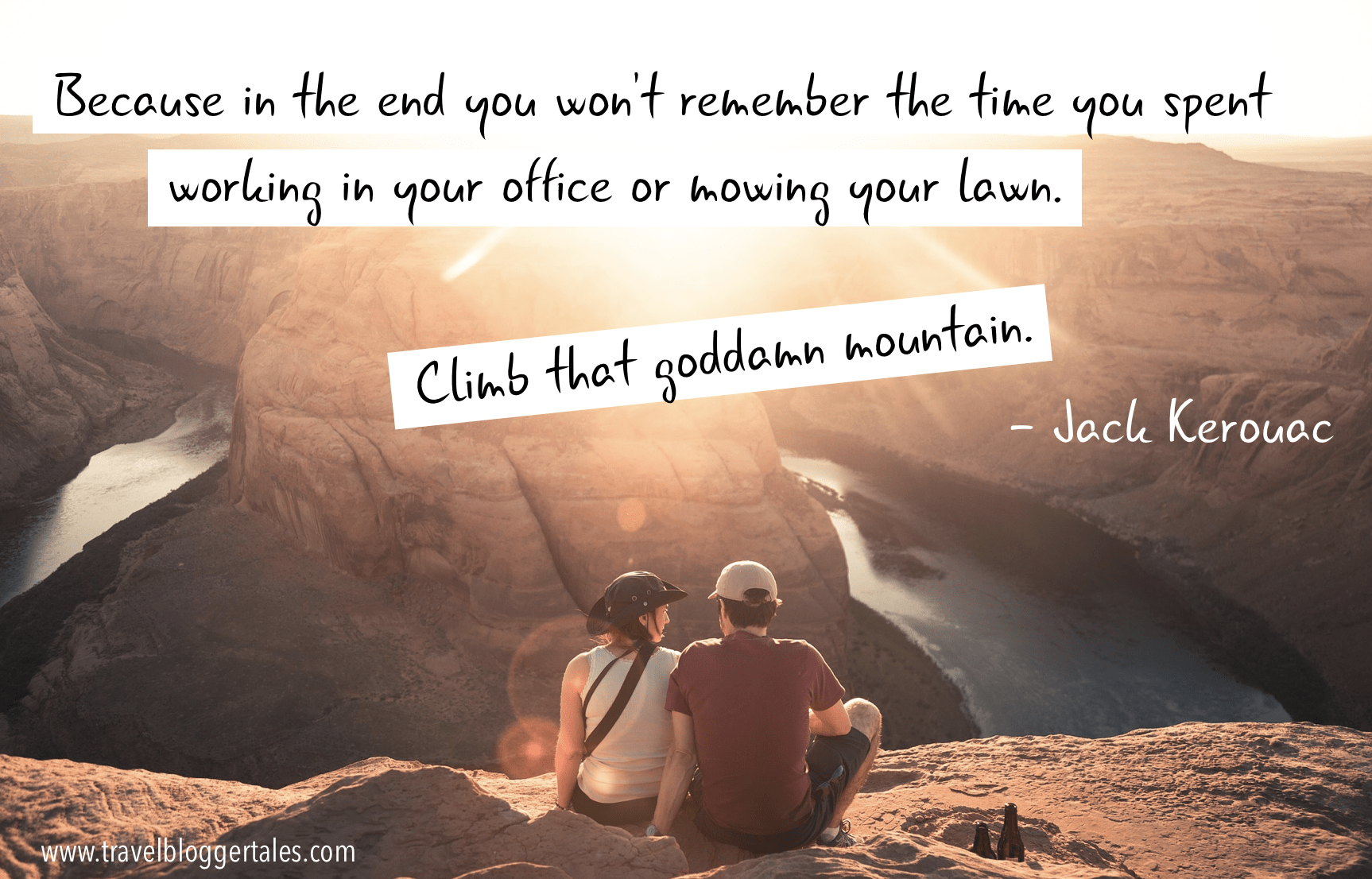 """…Climb that goddamn mountain."" – Jack Kerouac [1726x1106px][OC]"