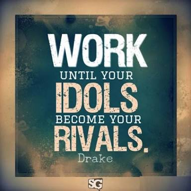 [Image] WORK Until Your IDOLS Become Your RIVALS!
